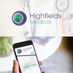 medical company logo design concept. logo design Nottingham.