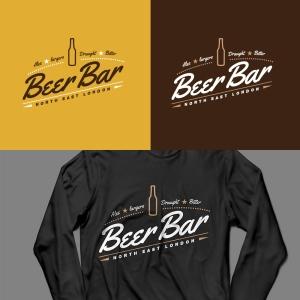 Beer bar logo design concept. Logo design Nottingham